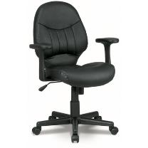 New Office Source Contours Leather Task Chair