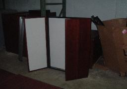 Mahogany Enclosed Visual Boards